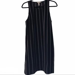 Nordstrom/ Leith Navy and White Dress Sz Medium